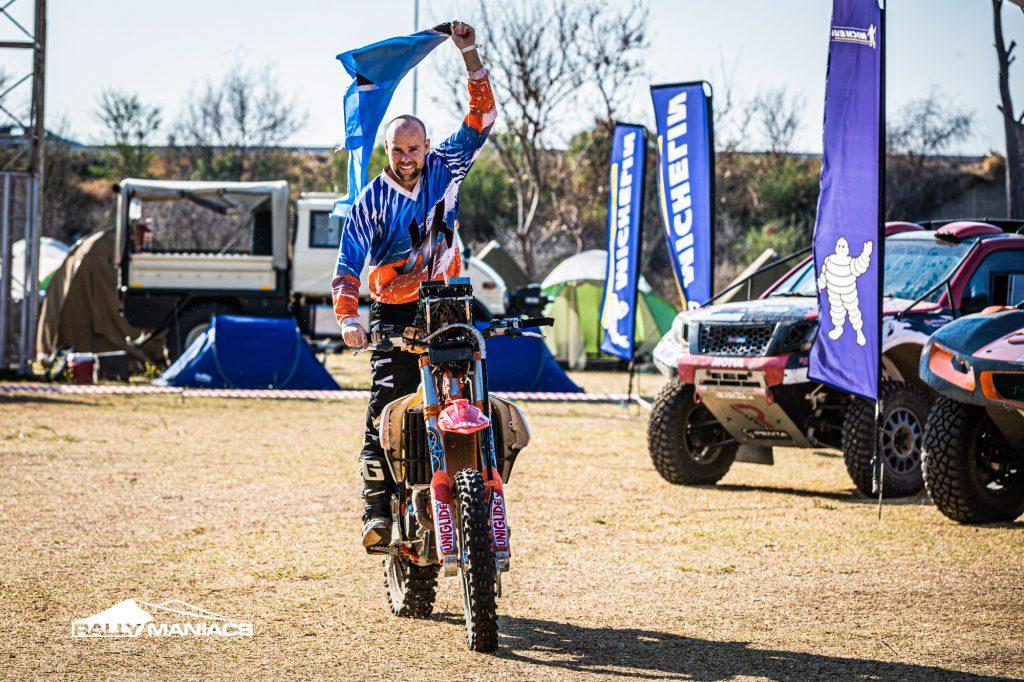Terence Marsh en John Kelly winnen Kalahari Rally 2021
