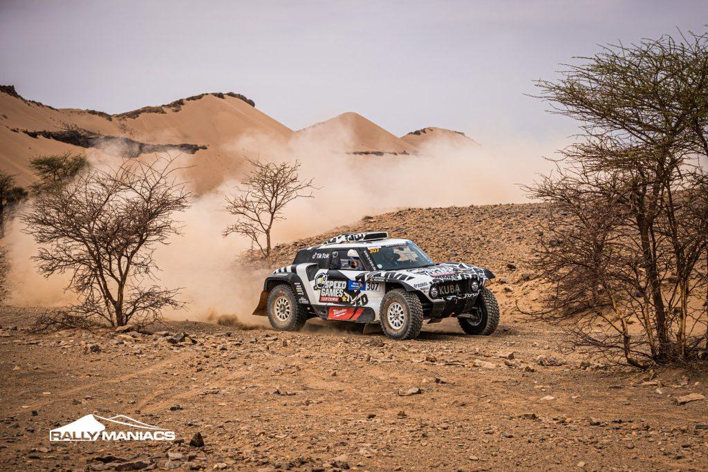 Van Loon vecht om dagzege in Rallye du Maroc, problemen voor Huzink