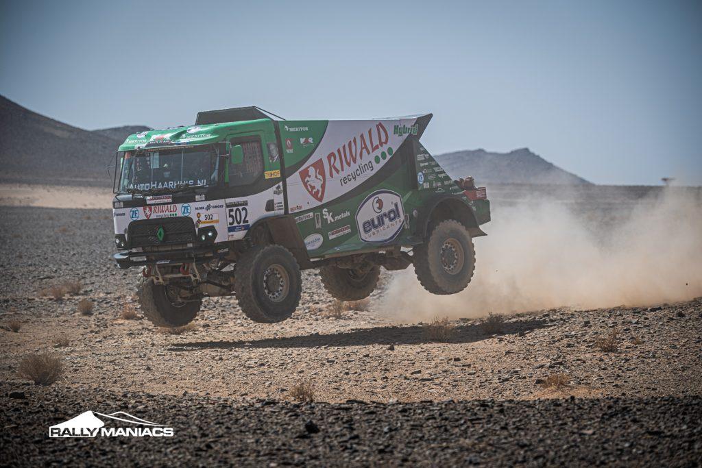 Huzink wint vierde etappe Rallye du Maroc, Van Wikselaar kent weer sterke dag