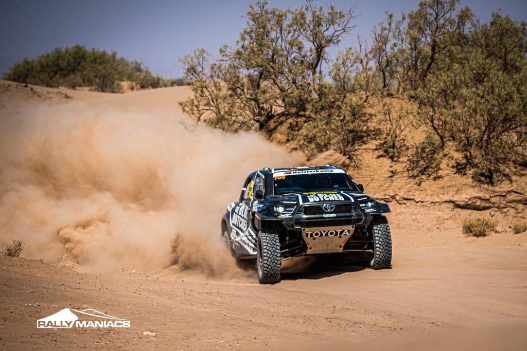 Beste Rallye du Maroc voor Van Loon