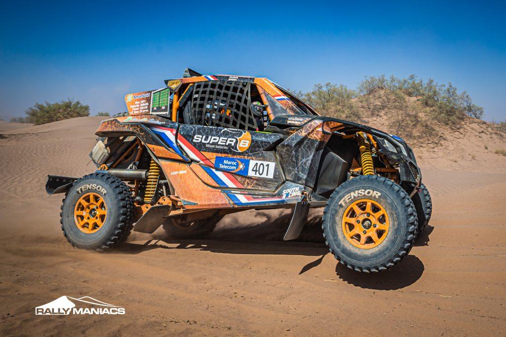 Rallye du Maroc: Koolen en Pol 4e in T4 klasse