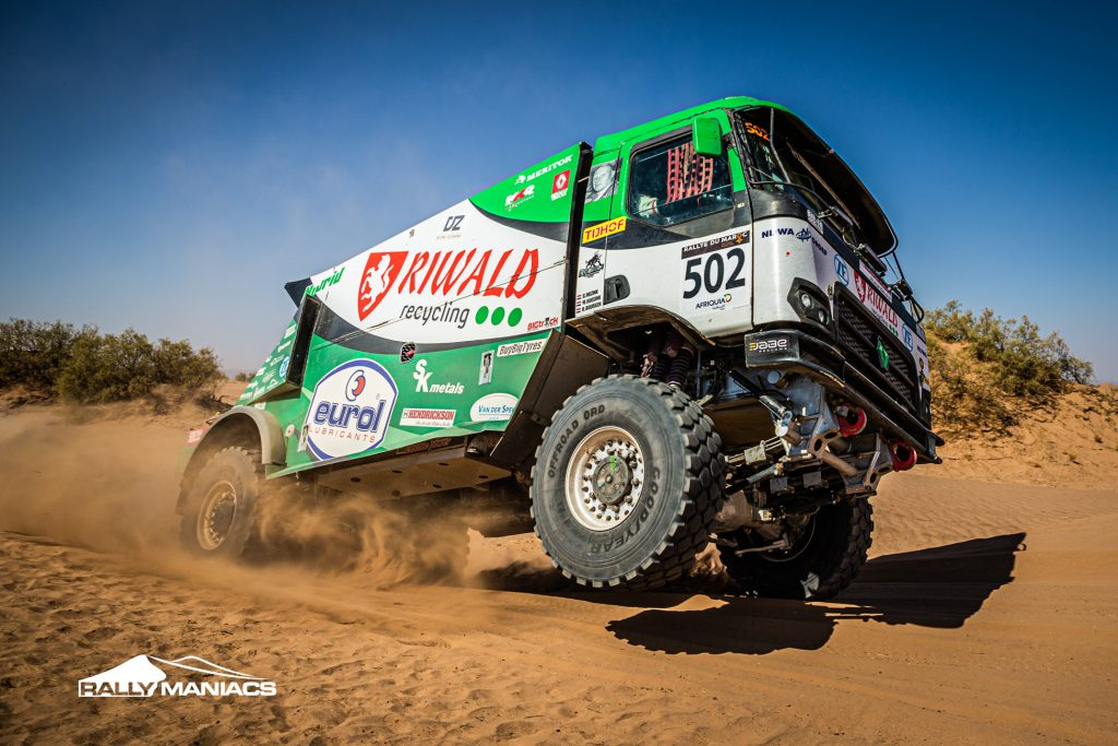 Riwald Dakar Team pakt weer etappe winst en eindigt als tweede overall bij de trucks